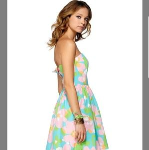 Lilly Pulitzer Dresses - Lilly Pulitzer spring floral dress 00 Richelle